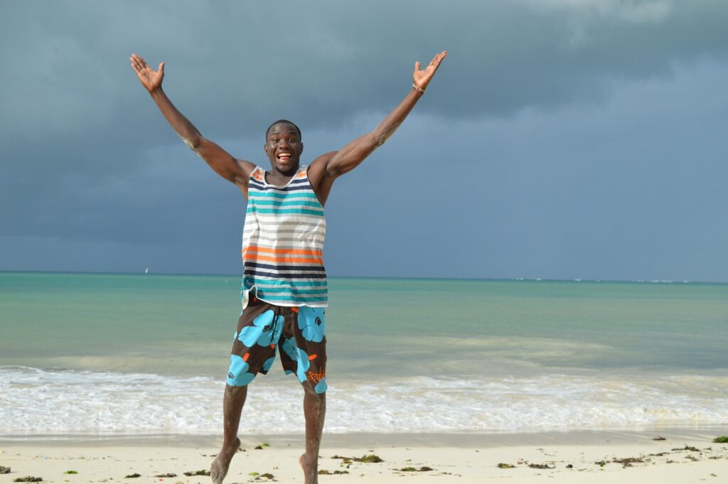 relaxing vacation in Kenya